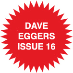 issue 16 Dave Eggers