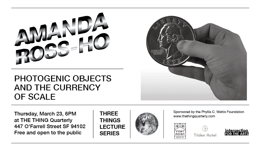 THREE THINGS LECTURE SERIES: AMANDA ROSS-HO